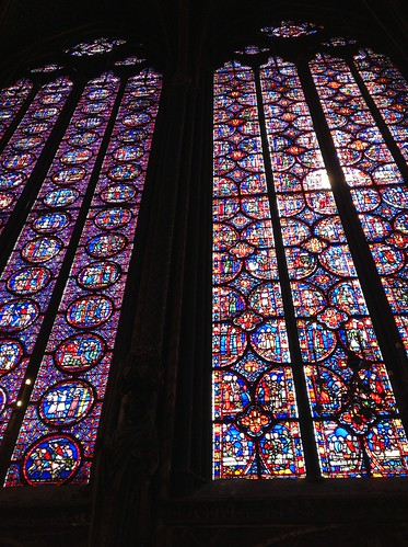 Stained Glass Interior, Sainte-Chapelle