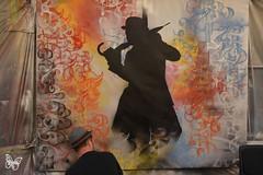 Paris Live Painting - Nick Walker