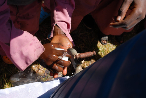 Global Handwashing Day celebrated at Menilik II Preparatory School, Addis Ababa, Ethiopia