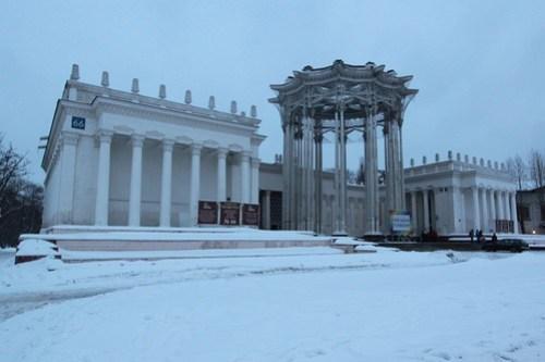 Pavilion of the Uzbek Soviet Socialist Republic