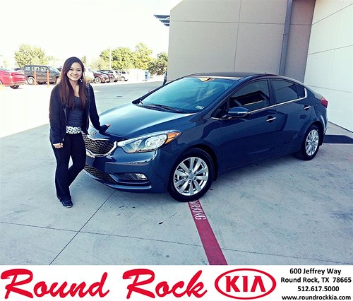 Thank you to Rebecca Hackney on your new 2014 #Kia #Forte from Kelly  Cameron and everyone at Round Rock Kia! #RollingInStyle by RoundRockKia