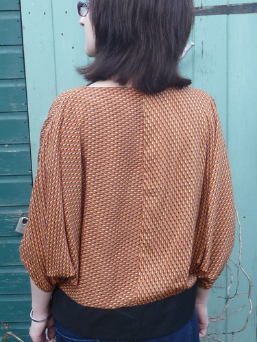 Handmade Burda Waterfall Top