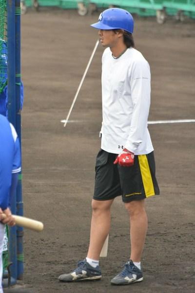 早出の石川選手