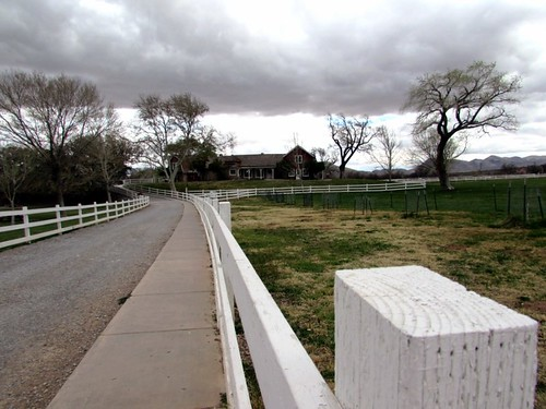 Spring Mountain Ranch State Park, main ranch house