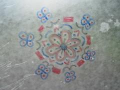 Wax Paper Mandala 3