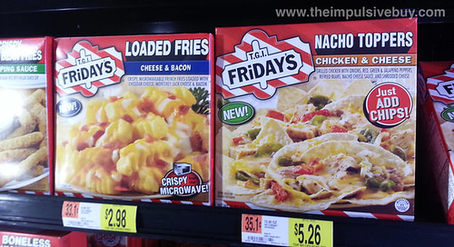 TGI Friday's Loaded Fries and Nacho Toppers