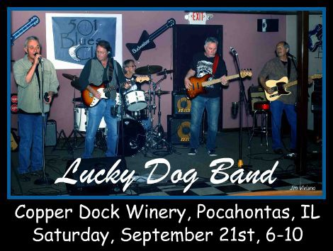 Lucky Dog Band 9-21-13