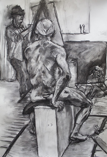 Sitting Life Drawing A2