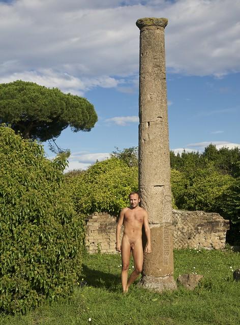 naturist 0000 Ostia Antica, Rome, Italy