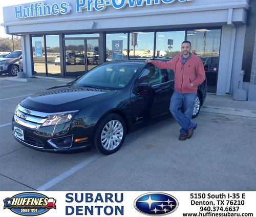 Thank You To Mark Semien On Your New 2010 Ford Fusion