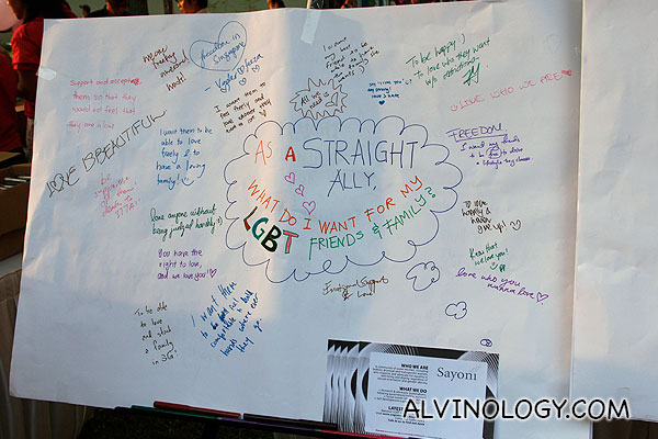 Striaght Ally noticeboard