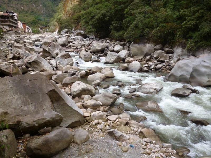 River of Aguas Calientes