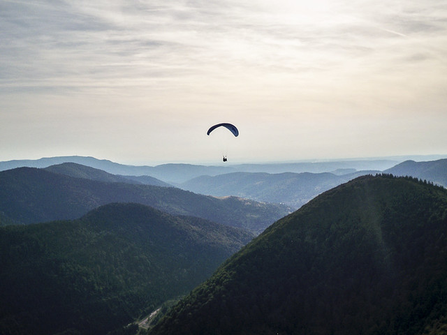 Paragliding in France by anitam.com