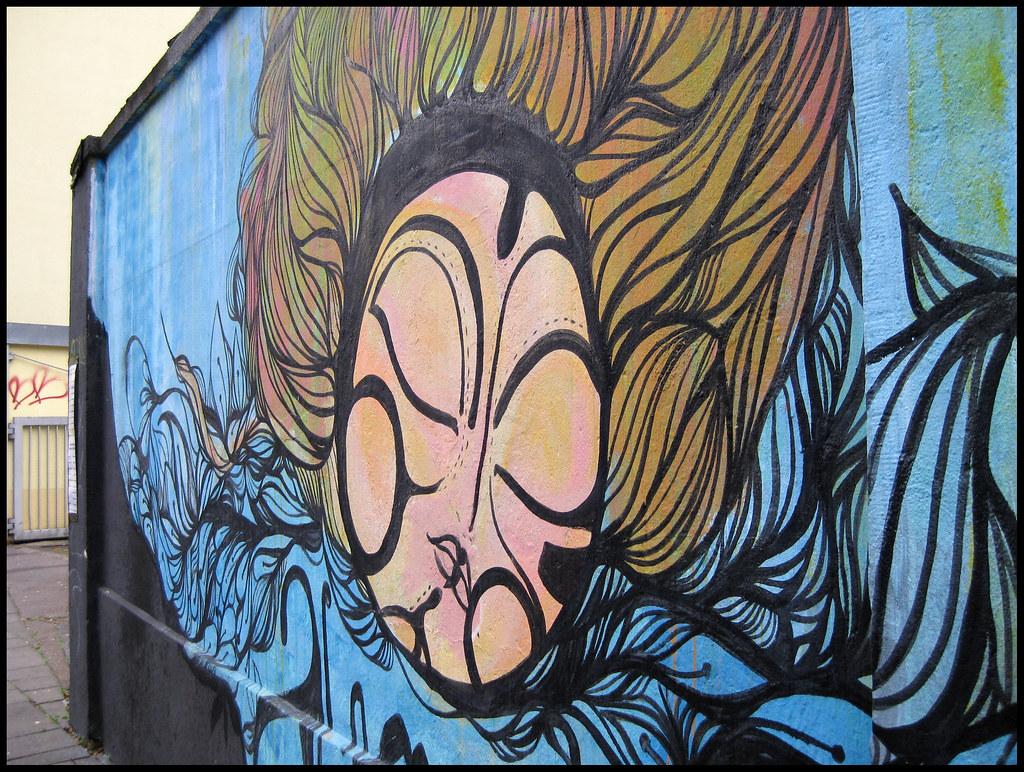 Köln-Ehrenfeld: mural / Wandmalerei