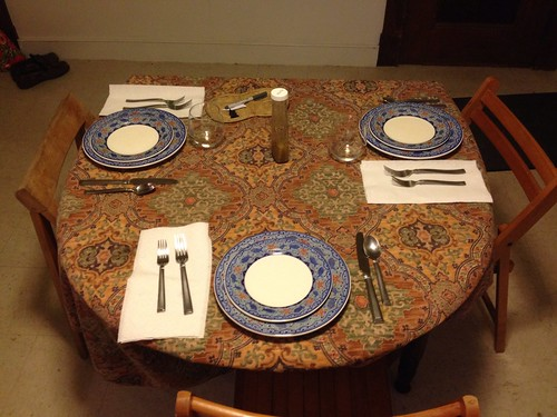 Thirty days of making: dinner party