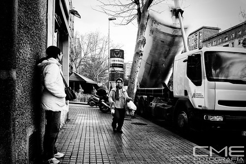 StreetPhoto La verneda by Christyan Martos