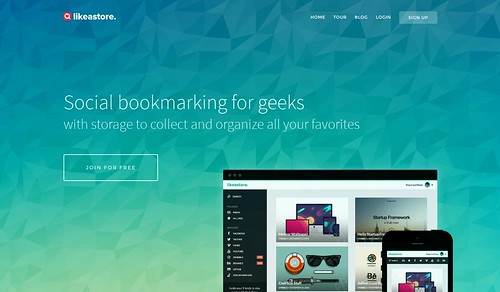 Likeastore  Social bookmarks and favorites