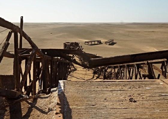 Oil Derrick at Skeleton Coast