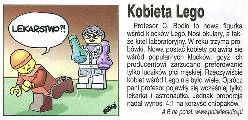 Angora nr 38 (1214) 2013 Angorka Kobieta LEGO