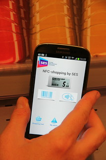 NFC shopping by SES