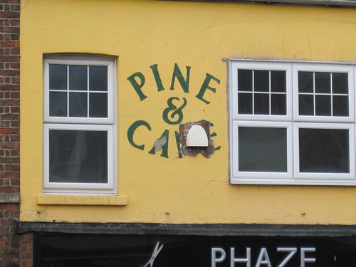 Pine & Cane - Redcar Ghostsign