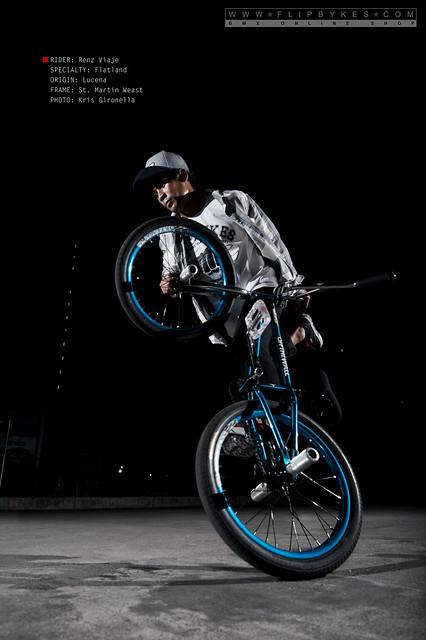 Flipbyeks Team Rider - Renz Viaje (BMX Flatland)