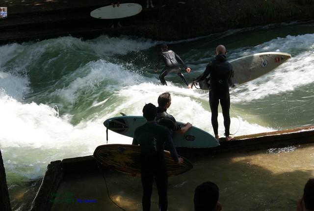 Surf en Munich por turno