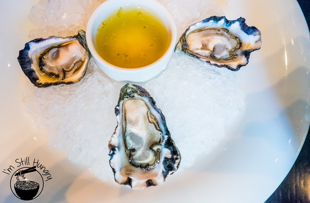 Sepia Restaurant oysters