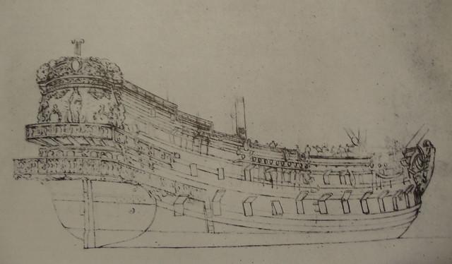 Spanish galleon 1660 - Van de Velde