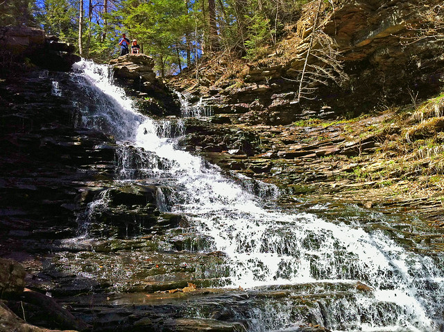 F. L. Ricketts Falls (38') in Glen Leigh.