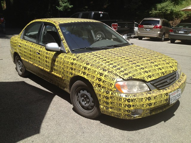 Mystery Spot car