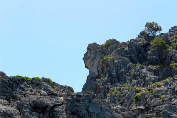 sa calobra rock formations