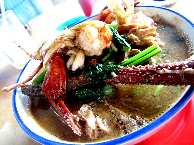Glory Cafe prawn noodles