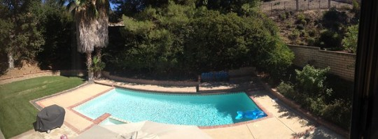 panorama from my room