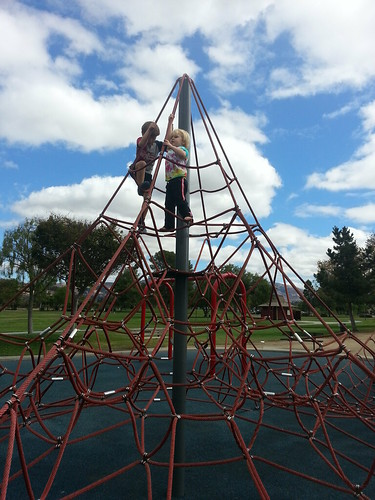 Owen climbing higher than ever before, Central Park, Fremont