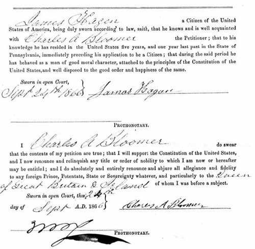 Naturalization Charles A Bloomer3