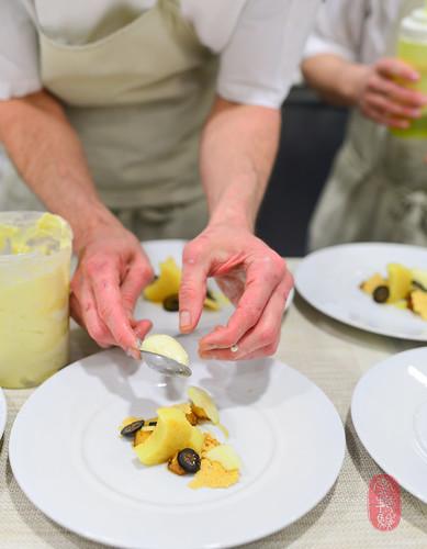 8th Course: Pecorino Cake