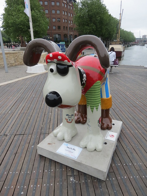 Salty Sea Dog by Peter Lord CBE