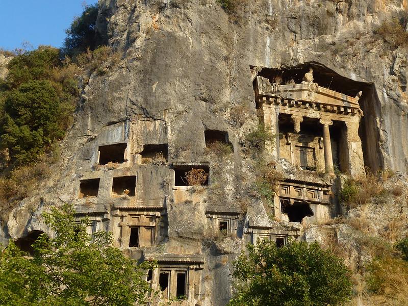 Turquie - jour 15 - Fethiye - 024 - Tombeau d'Amyntas