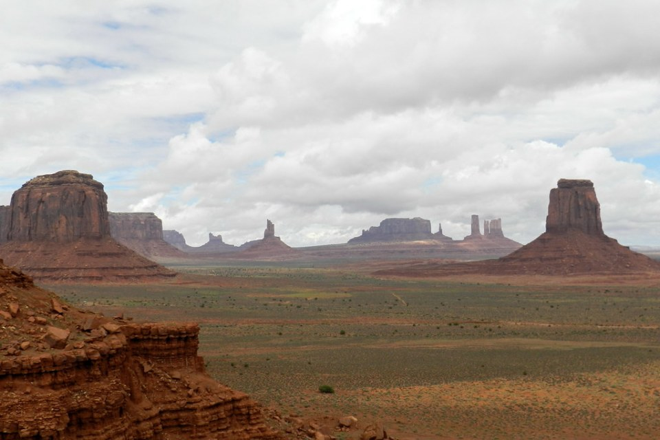 Valle de los Monumentos Monument Valley EEUU 14