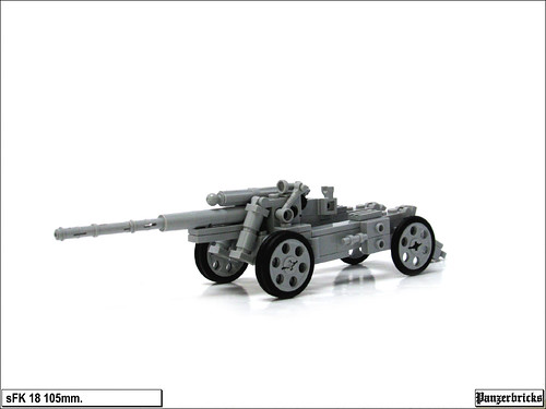 sFK 18 105mm. de Panzerbricks