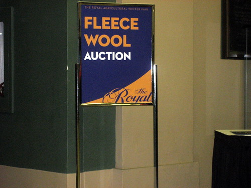 Annual Royal Agricultural Winter Fair Fleece Auction Toronto
