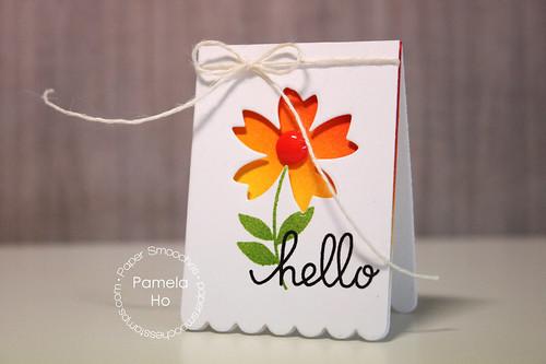 Paper Smooches - Flower Dies
