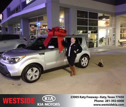 Westside KIA Houston Texas Customer Reviews and Testimonials-Alexandra Cheramie by Westside KIA
