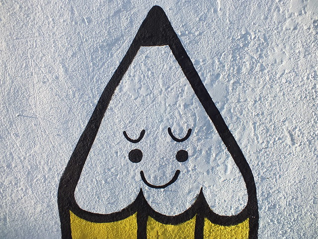 Phil Morgan street art for Empty Walls Festival