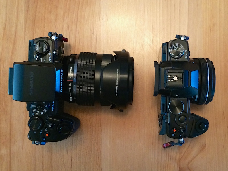 OM-D compared