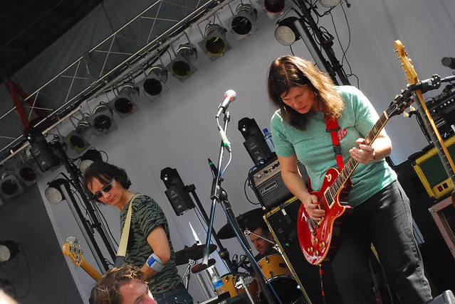 hopscotch music festival: the breeders sound check