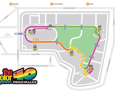 Ruta 5K The Color Experience