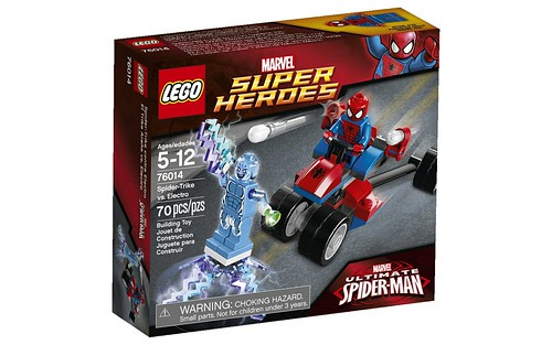 76014 Spider-Trike vs Electro BOX