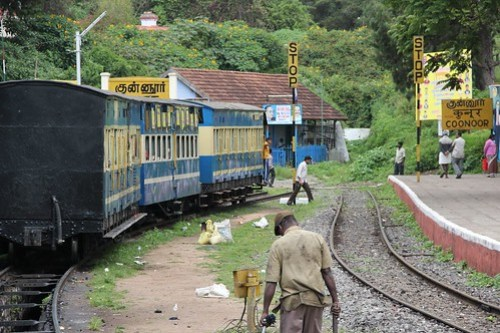 At Coonoor station